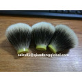 Bulb Shape Manchurian Badger Hair Knot