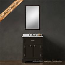 Fed-1685b clásico de alta calidad gabinete de tocador de baño de China