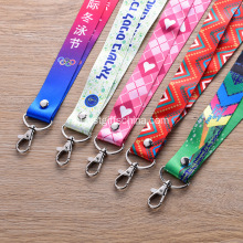 Op maat gemaakte full colour bedrukte lanyards