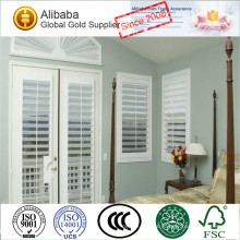 Wholesale with Excellent Quality of Personalized Double Hinged Wrought Aluminium Plantation Shutters