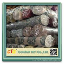 Tissu de polyester de stock de textile de 2014