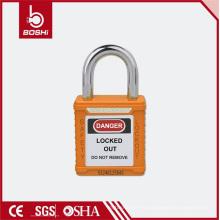 25 mm de longitud ultra corta de acero Shackle candado de seguridad (BD-G51)