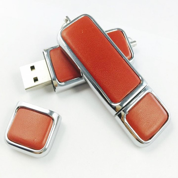 Premium Leather USB Flash Drive