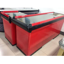 Supermarket Electric Checkout Counter From Yuan Da Factory