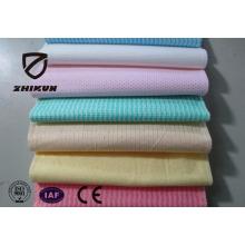 Lingettes humides en tissu non tissé Spunlace pour nettoyage de cuisine domestique