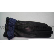 Fashion Lady Warm Leather Gloves/Mittens