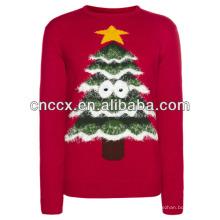 14STC8023 suéter de natal feio