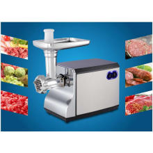 Moedor de carne de aço inoxidável de função múltipla, picador de carne
