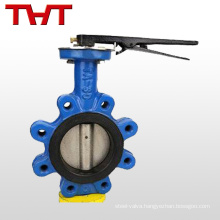 Hot selling high quality stainless steel lug butterfly valve uses