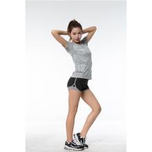 T-shirt Running da ioga do esporte para mulheres