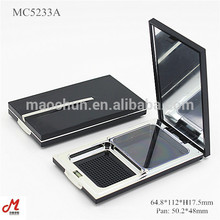 MC5233A plástico cosmético compacto retorque modo bolo em pó caso