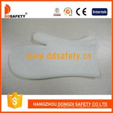 Weiße Silikon BBQ Handschuhe Küche tägliche Handschuhe Dsr329