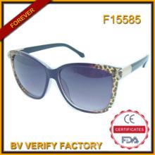 F15585 Dernières importation lunettes de soleil pour femmes