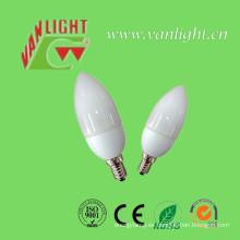 Vela forma CFL 7W-9W (VLC-CDL-7W-9W)