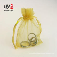 Tissue organza drawstring fabric wrapper pouches