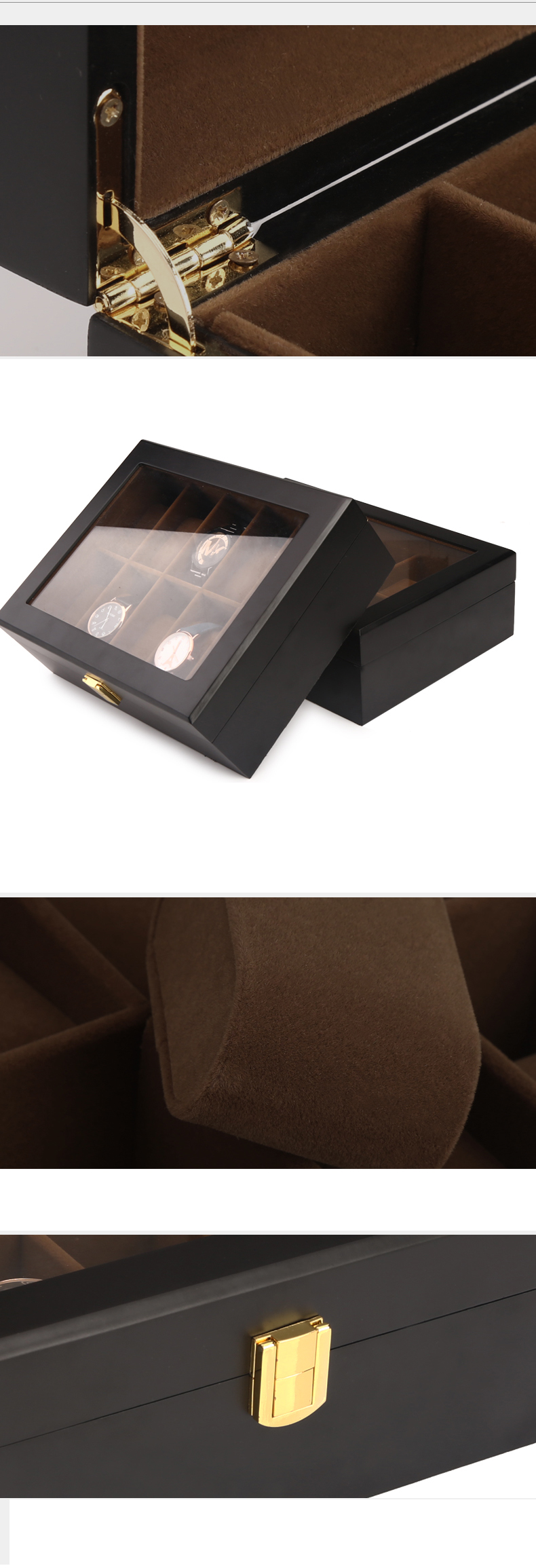 Wooden Collection Box For Watch