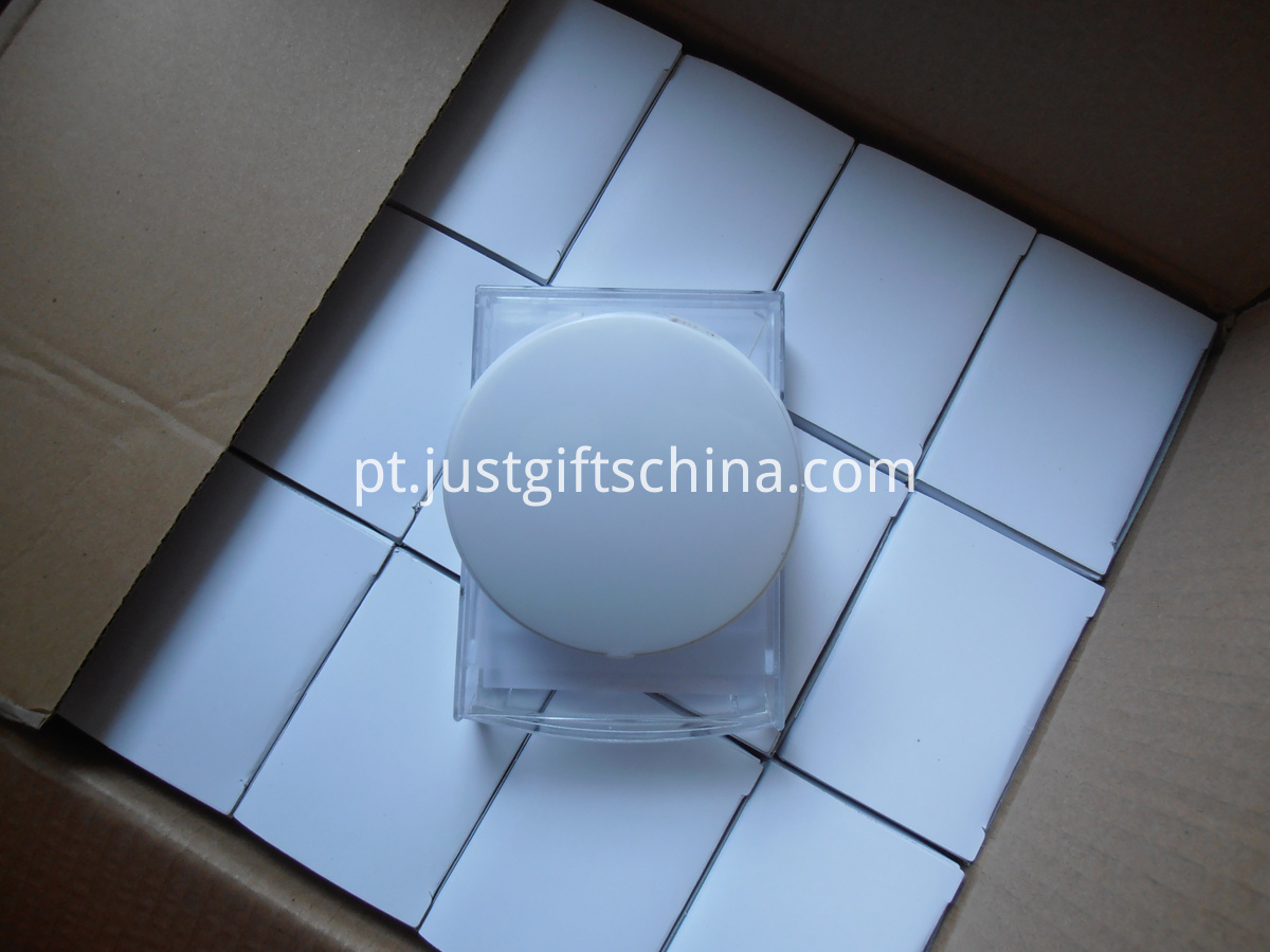Promotional Round shaped Automatic Notes Box
