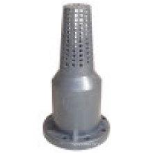 Педальный клапан ХПВХ, пластиковый лап / нижний клапан