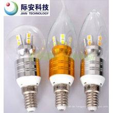 360 Grad 7W 100V-240V E14 LED Glaskolben
