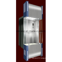 Square Shape Panoramic Elevator with 3 Sides Glass (JQ-A034)