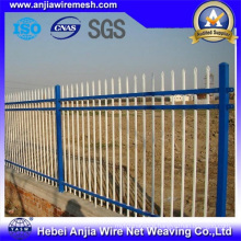 Hot Dipped Galvanized Powder Coated Metal Garden Palisade Fence
