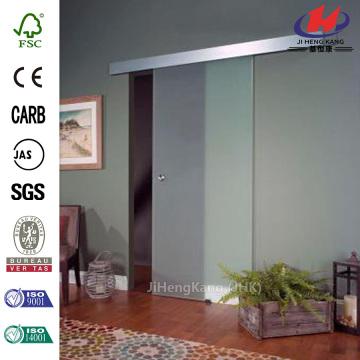 Glass Barn Door with  Door Hardware Kit