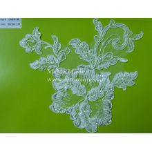 White Wedding Dress Lace Fabric Beaded Lace Fabric CMC010B