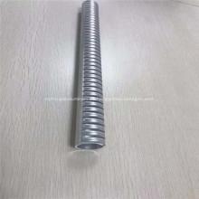 Tubo ranurado de aluminio anodizado para disipador de calor