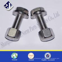 High Quality Hexagon Head Flange Bolt