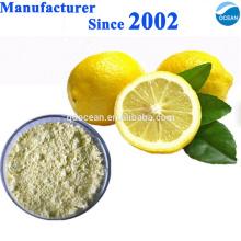 Vente chaude et gâteau chaud 100% extrait de citron de la nature Jus de poudre / poudre fraîche de citron