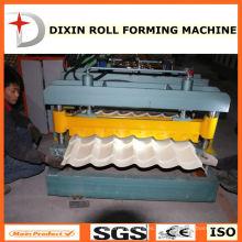 Machine pour la tuile de toiture en métal