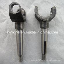 Pièces de forgeage en acier adaptées aux besoins du client avec l'usinage de commande numérique par ordinateur