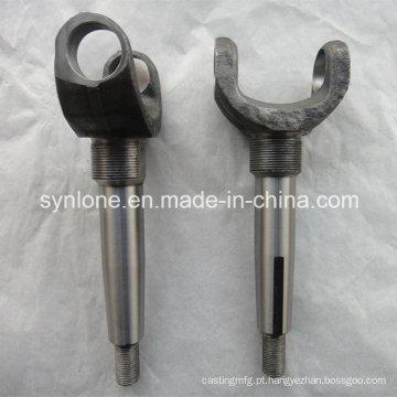 Peças de aço personalizadas do forjamento com fazer à máquina do CNC