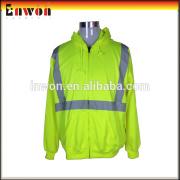 Hot selling workwear clothing factory uniform reflective polar fleece jacket