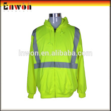 Hot selling workwear clothing factory uniform reflective polar fleece jacket