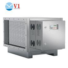 Dispositif de purification des gaz résiduaires par photolyse UV