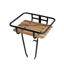 Argon-Arc Welded Alloy Front Carrier with Beechwood Plate (HCR-107)