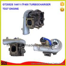 Tb25 452162 452162-5001s 452162-0001 14411-7f400 Td27 Sobrealimentador Turbina Turbo Turbocompressor
