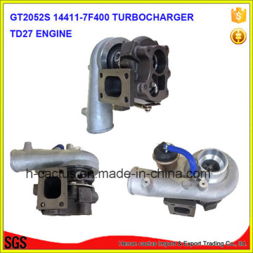 Tb25 452162 452162-5001s 452162-0001 14411-7f400 Td27 Sobrealimentador Turbina Turbo Turbocompresor
