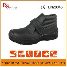 Chaussures de sécurité pour soudure résistant aux produits chimiques, chaussures de sécurité sans dentelle RS022