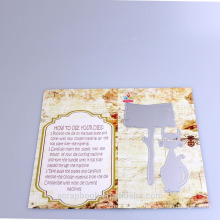 2016 fils décoration intérieure alibaba co uk Chines fournisseur Halloween Fox façonner des filières mécaniques pour cardmaking