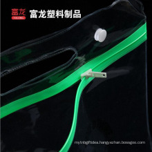 High quality custom pvc clear drawstring bag