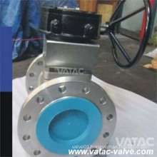 RF Flange Cast Steel Wcb/Ss304/Ss316 Soft Seat Lined Plug Valve