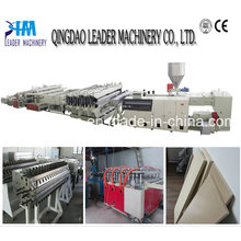 PVC Foam Sheet Machinery for Construction Formworks