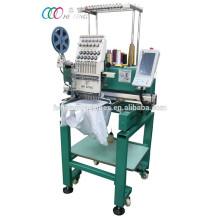 Вышивальная машина с одной головкой для вышивания / футболкой
