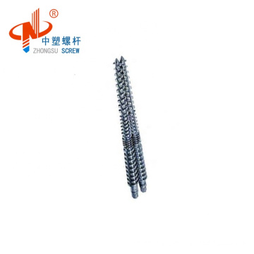 bimetallic conical twin screw barrel for PVC pipe with competitive price