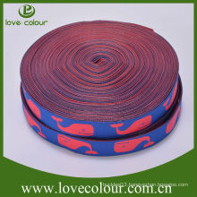 New design high quality custom ribbons jacquard woven ribbon