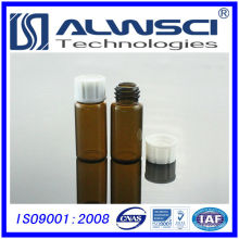 Frasco de almacenamiento con tapa de PP laboratorio escolar suministros consumibles de laboratorio
