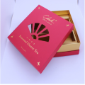 Customized Luxury Red Corrugated Cardboard Paper Gift Box