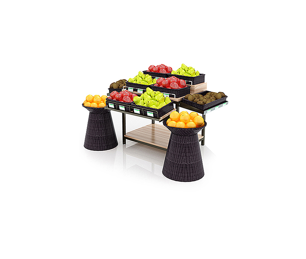 Metal Vegetable Display Stand